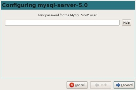 MySQL password is... HA! Got cha!