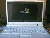 Windows XP on an Asus Eee PC