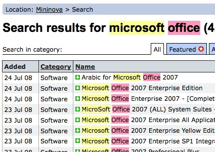 microsoft office pirate search