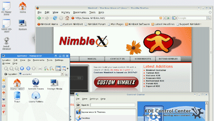 Nimblex rocks, especially for minimalist Linux