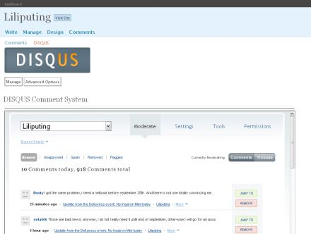 Disqus Wordpress