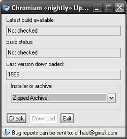 Chromium Nightly Updater
