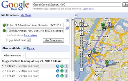 Google Maps NYC