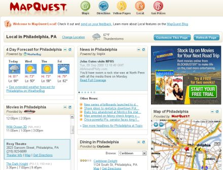 mapquest international