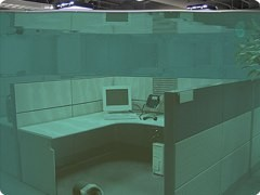 Cubicle Flood Screen Saver