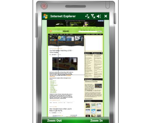 Pocket Internet Explorer 6