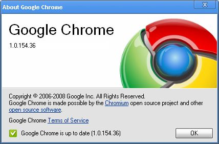 Google Chrome 1.0