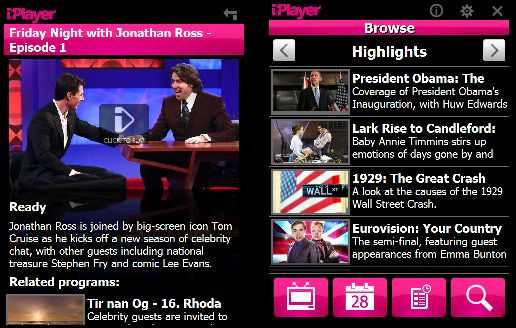 iPlayer on Windows Mobile
