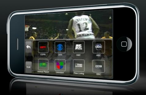 SlingPlayer for the iPhone