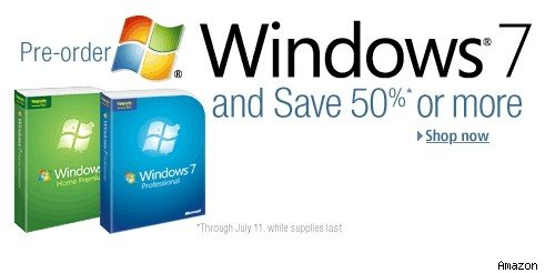 Windows 7 discounts