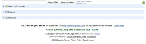 Integrated Gmail