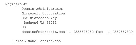 Office.com registration