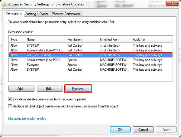 change microsoft security essentials update frequency
