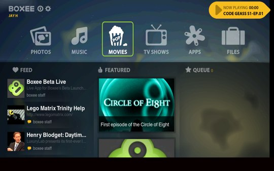 Boxee Beta