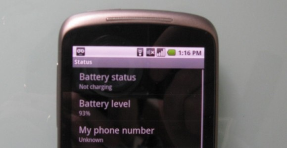 Nexus One battery