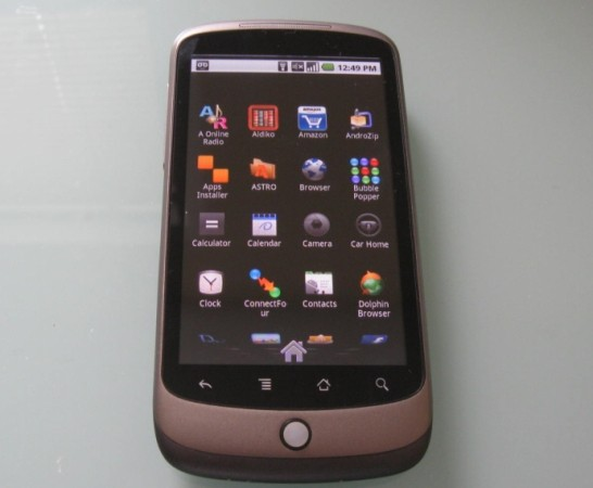 Nexus One apps