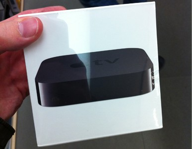 Apple TV UK Stock