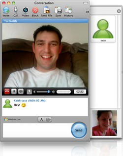 Microsoft Messenger for Mac 8