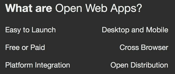 Mozilla Open Web Apps