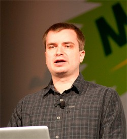 Vladimir, at Mozilla Summit 2010