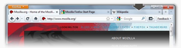 Firefox 4 - new look