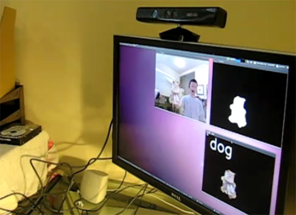 Object recognition with OpenKinect