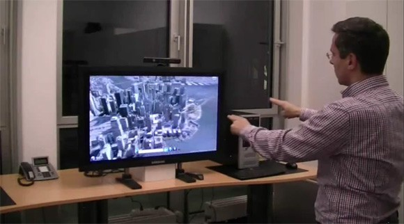 Kinect controlling Windows 7