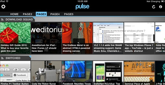 Pulse for iPad now free