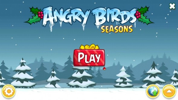 Angry Birds Seasons for Symbian