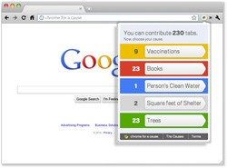 Google Chrome for a Cause