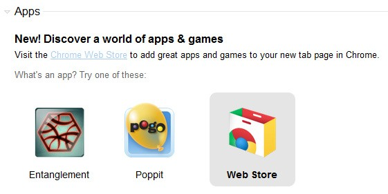 Chrome 10 bundled games