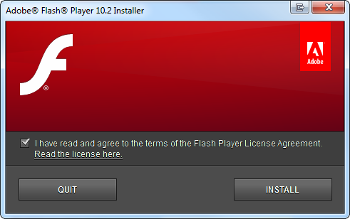 Flash player 10 sucks