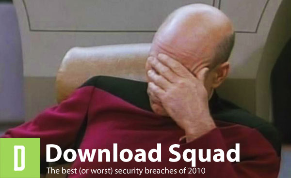 The best (or worst) security breaches of 2010