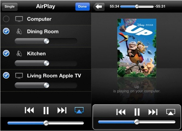 iOS remote streams to apple tv