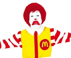 McDonalds hacked; Ronald sad