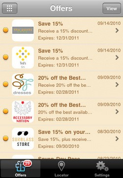 Visa Mobile iOS app