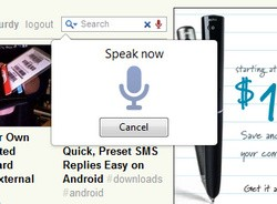 Voice Search for Chrome