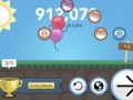 <p> 	If you manage to complete all the challenges of a particular level you get a balloon filled victory screen in which you can interact with your little ball friends.</p>