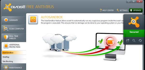 avast 6 free antivirus windows