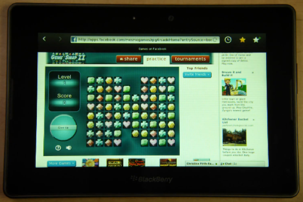 blackberry playbook flash demo