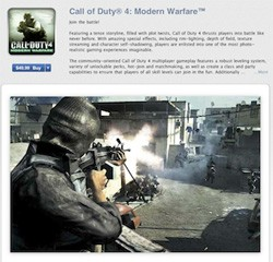 CoD4 on the Mac App Store