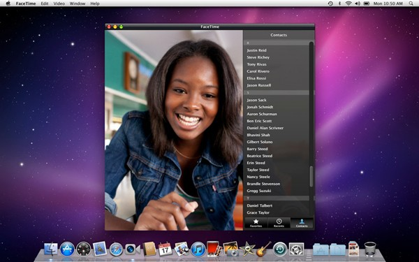 FaceTime for OS X