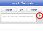 Google Translate for iPhone screenshots