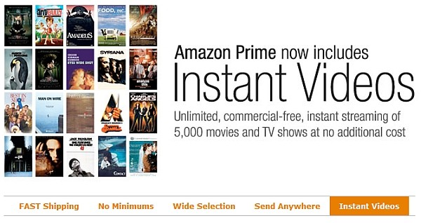 amazon video vod prime