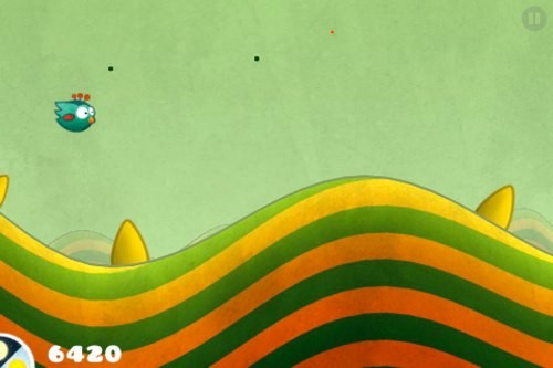 Tiny Wings is an Ios Game From