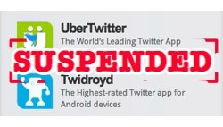ubermedia apps ubertwitter and twidroyd suspended by twitter