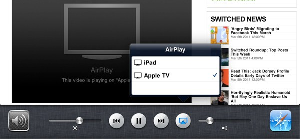 iOS 4.3 AirPlay