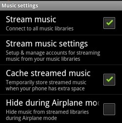 google music streaming itunes