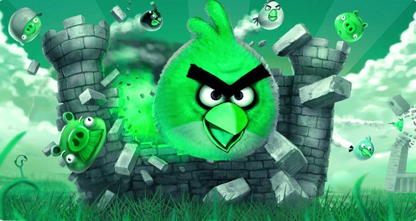 Angry Birds St. Patrick's Day