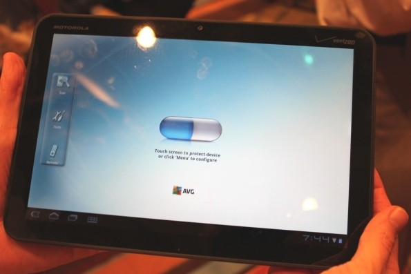 avg mobilation android tablet